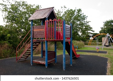 Children's play structure in England