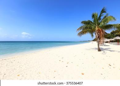 Playa Ancon or Ancon Beach in Trinidad, Cuba