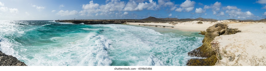 Playa Chikitu - Washington Slagbaai National Park -Views around the Caribbean Island of Bonaire in the ABC Islands