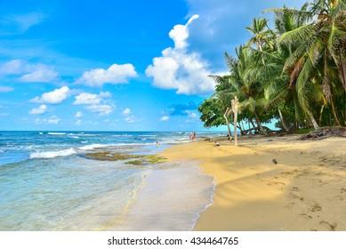Playa Cocles - beautiful tropical beach close to Puerto Viejo - Costa Rica