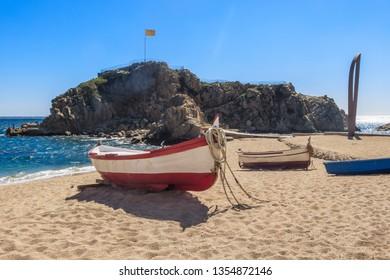Playa de Blanes, Girona, Spain
