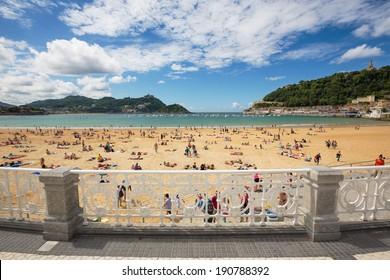 Playa De La Concha - San Sebastian Beach