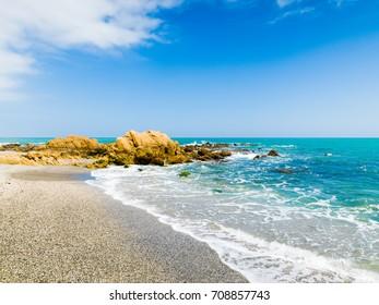 Playa de la Duquesa, Manilva, Costa del Sol Occidental, Malaga, Andalusia, Spain