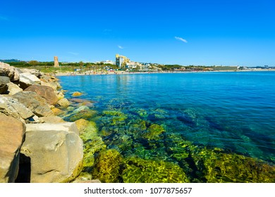 Playa de Puerto de Cabo Pino, Marbella, Costa del Sol Occidental, Malaga, Andalusia, Spain, Iberian Peninsula