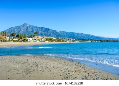 Playa de Rio Verde, Marbella, Costa del Sol Occidental, Malaga, Andalusia, Spain, Iberian Peninsula