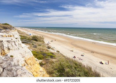 Playa del Asperillo beach in Matalascanas. Donana Natural Park, Huelva province, Costa de la Luz, Andalusia, Spain