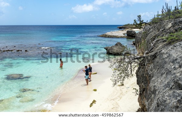 Playa Funchi - Washington Slagbaai National Park -Views around the Caribbean Island of Bonaire in the ABC Islands