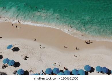 Playa Gemelas in the Bay of Banderas, Mexico. VSCO M5 added.