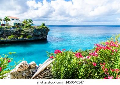 Playa Lagun Beach Cliff Curacao