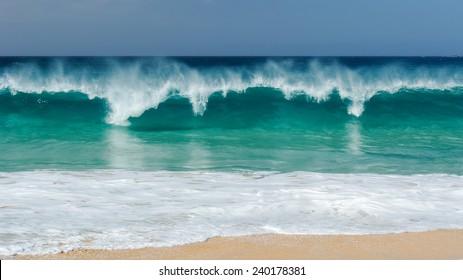 Playa Las Conchas, La Graciosa, Canary Islands, Spain.