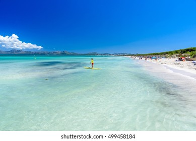 Playa Muro - Mallorca, balearic island of spain