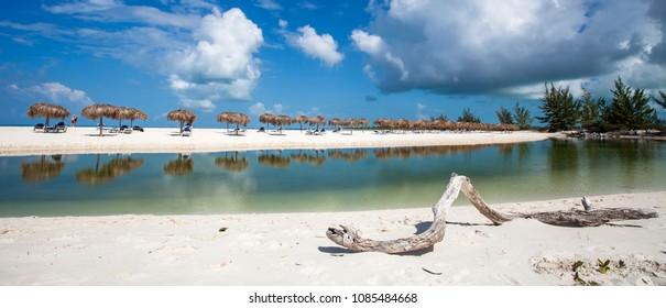 Playa Paradiso at Cayo Largo island, Cuba