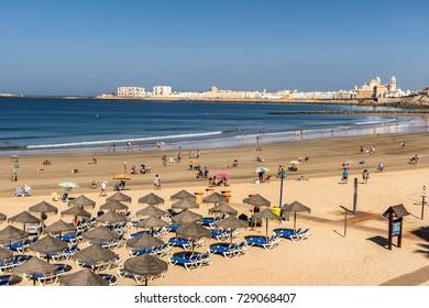 Playa santa Maria del Mar in Cadiz