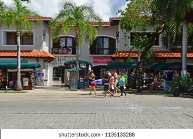 Playacar; United Mexican States - may 20 2018 : the picturesque city