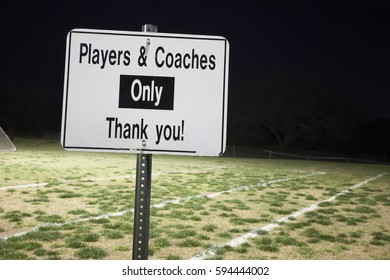 Players & Coaches Sign