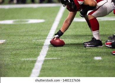 Players on field - week #3 of the 2019 NFL Pre-Season Game Atlanta Falcons Host the New York Jets on Thursday August 15th 2019 at the Mercedes Benz Stadium in Atlanta Georgia USA