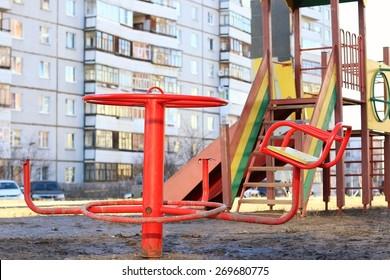 playground broken