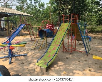 Playground kid fun