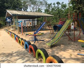 Playground kid fun