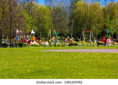 A playground for our children to be able to play