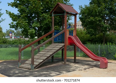 Playground. A place for children to play in the park.