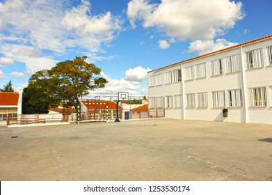 Playground of a public school
