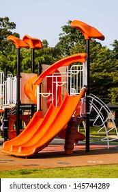 playgrounds in garden