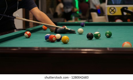Playing billiards is both fun and art. it requires attention, concentration and requires mind