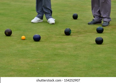 Playing Bowls