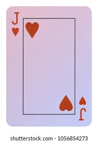 Playing cards, Jack of hearts