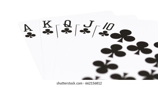 playing cards poker hands