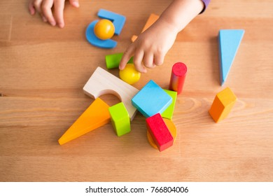 playing children with  toys