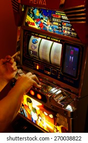 Playing Pachinko Machine