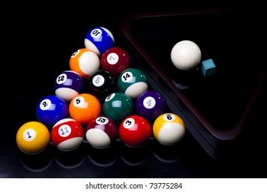 Playing pool, Billiard
