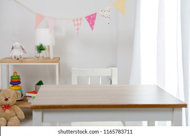 Playroom decorrative for child at home