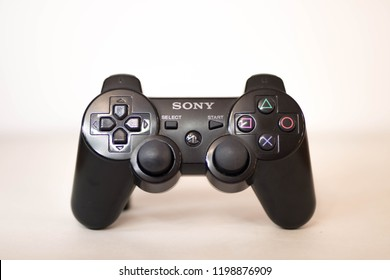 Playstation 3 controller black shoot