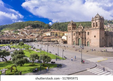 plaza armas in cusco