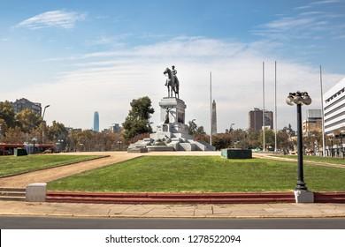 Plaza Baquedano Square - Santiago Chile