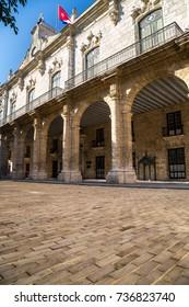 Plaza de Armas in Old Havana, Cuba