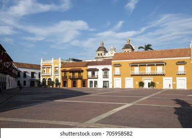Plaza de la Aduana - Cartagena de Indias, Colombia