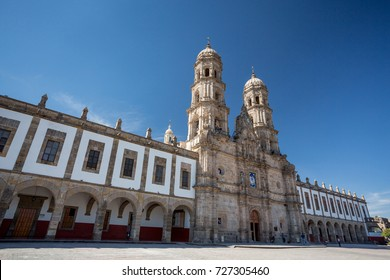 Plaza de las Americas and church, Zapopan, Guadalajara, Mexico