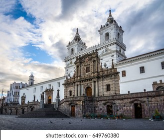 Plaza de San Francisco and St Francis Church - Quito, Ecuador