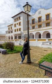 Plaza de Santa María in Tarifa, Spain