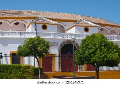 Plaza de toros de la Real Maestranza de Caballería de Sevilla, Andalusia, Spain