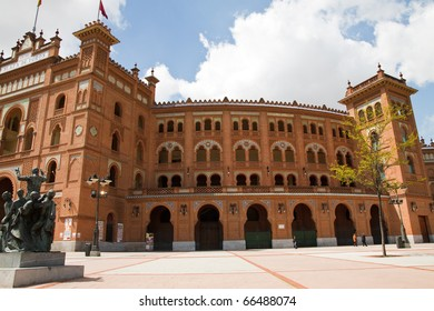 plaza de toros in Madrid, spain