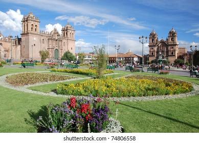 Plaza del armas Cuzco Peru