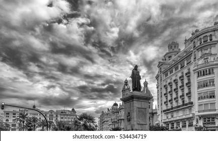 Plaza del Ayuntamiento, Valencia, Spain