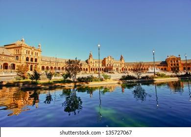 Plaza Espana inSevilla, Spain