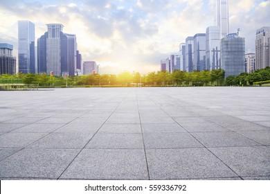 Plaza in Guangzhou