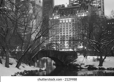 The Plaza Hotel from Central Park